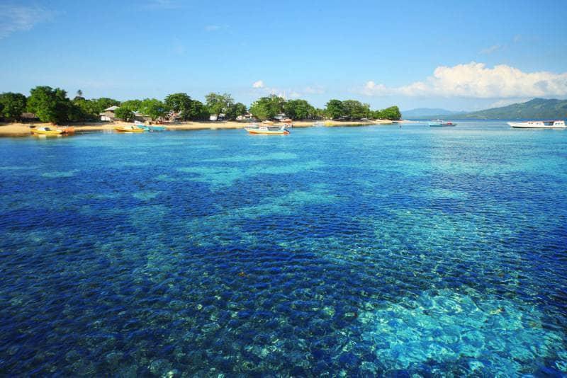 wilayahnya meliputi pesisir utara semenanjung minahasa pulau bunaken siladen mantehage naen talise
